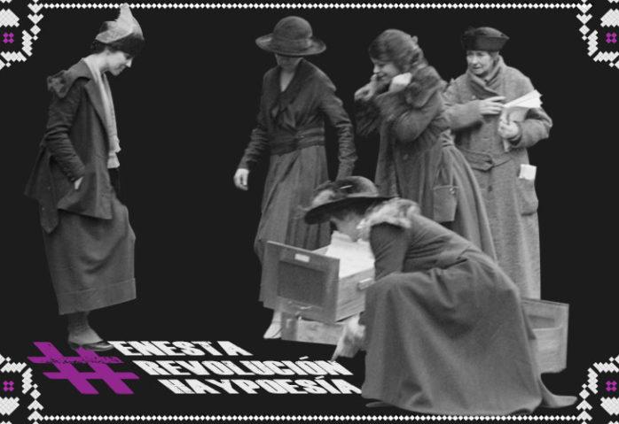 #EnEstaRevoluciónHayPoesía o cómo cimentar un futuro feminista a través de la poesía