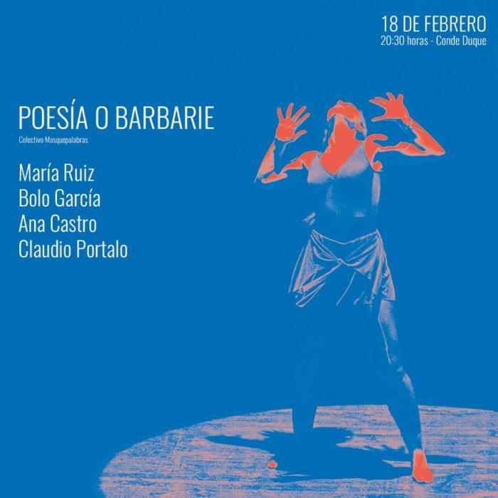 <Poesía o Barbarie> 18.02.20