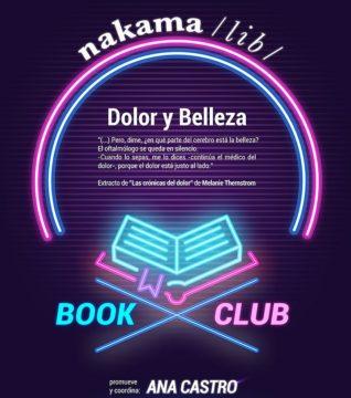 "Nakama Book Club ""Dolor & Belleza"""