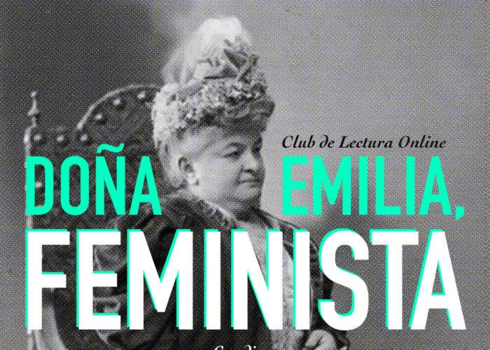 "Club de lectura online ""Doña Emilia, feminista"""