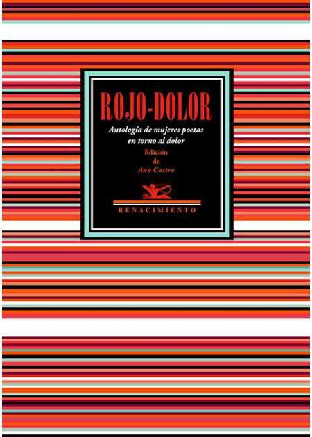 """Antología """"Rojo-Dolor"""" ya a la venta"""